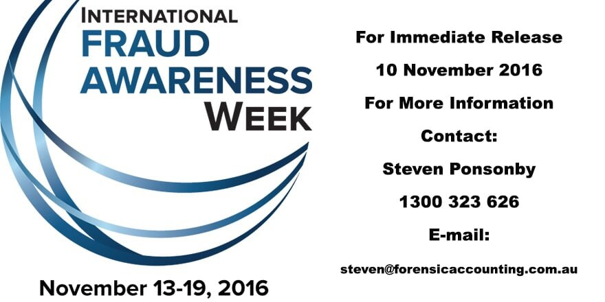 Fraud Awareness Week 2016